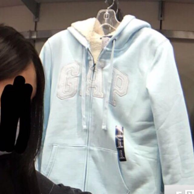 Gap 淺藍S 厚外套