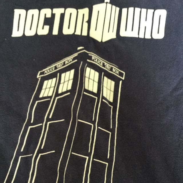 Glow In The Dark Doctor Who shirt