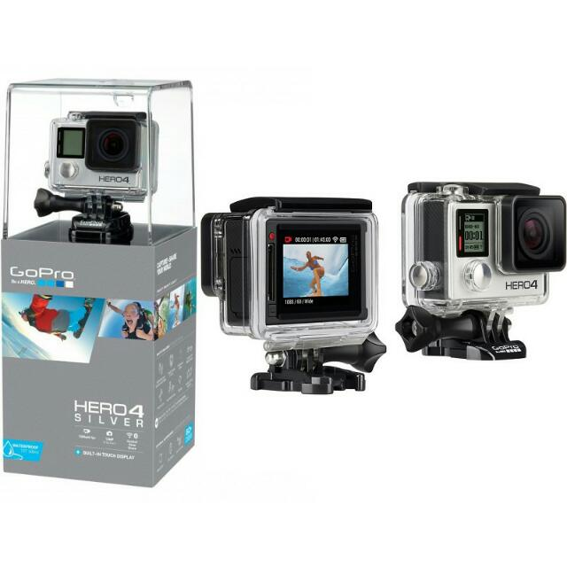 GoPro Hero 4 Silver Bundle