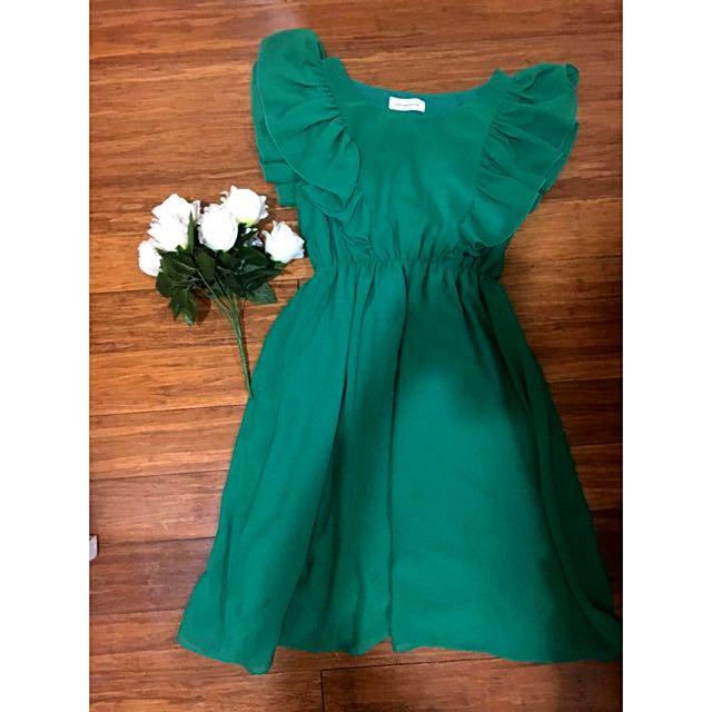 Green Peter Alexander Dress