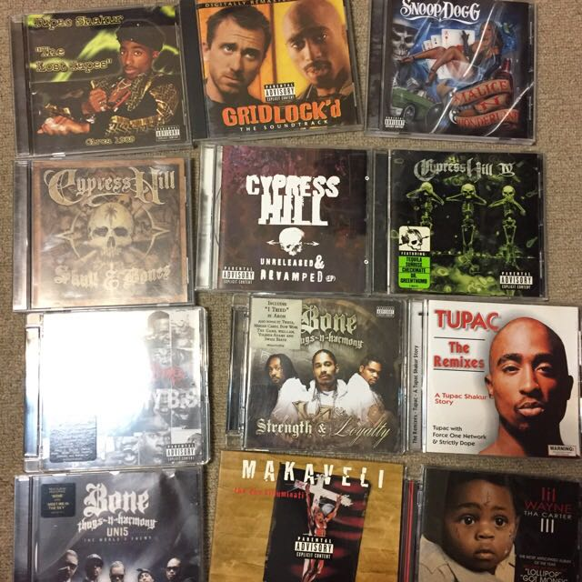 Hip-Hop & Rap CD