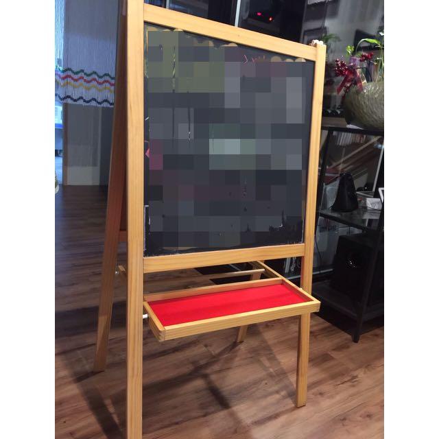 Ikea立式小黑板