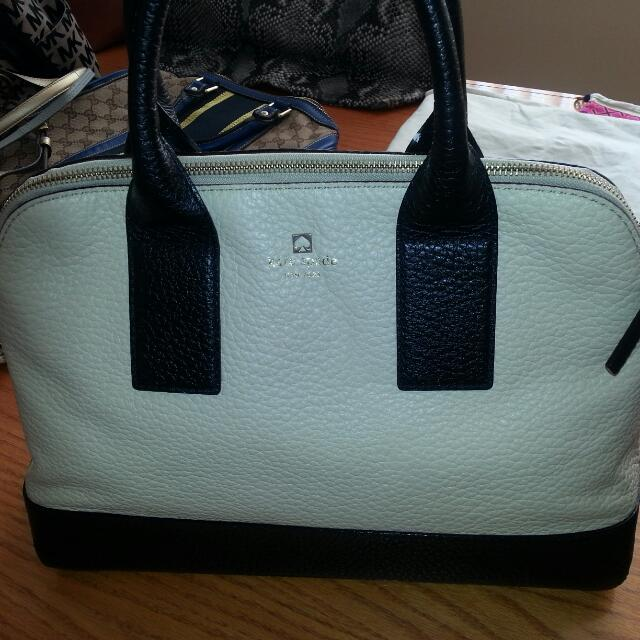 Kate Spade Handbag With Long Strap As Well
