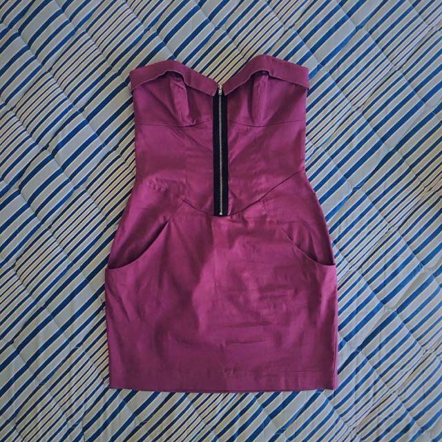 Ladakh Purple Dress. Size 8 AUS.