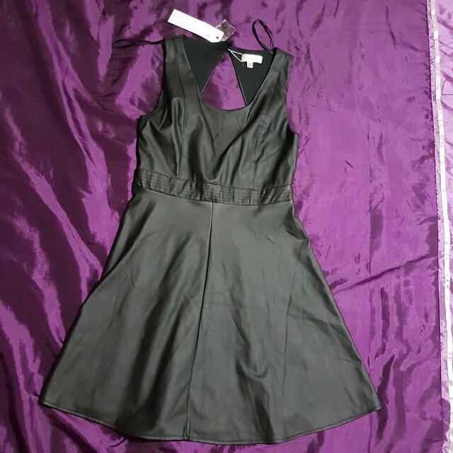 Leather Dress Size S/M