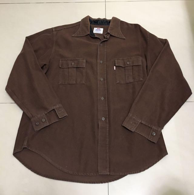 Levi's 純棉長袖襯衫