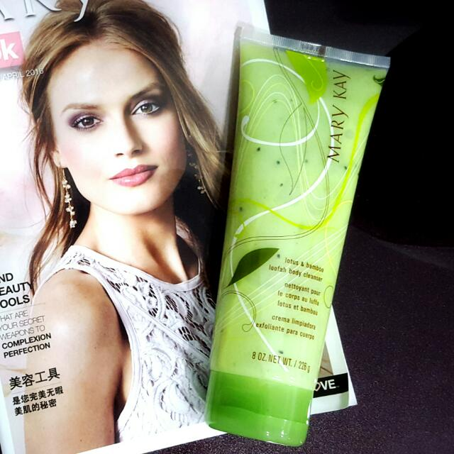 Mary Kay® Lotus & Bamboo Loofah Body Cleanser *Bestseller*
