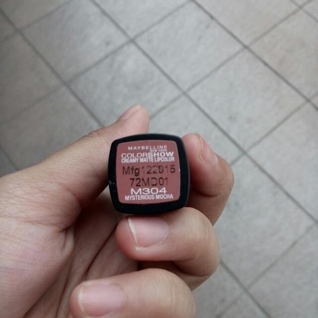 Maybelline colorshow Creamy Matte Lipcolor: Mysterious Mocca
