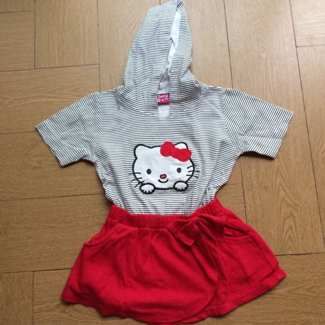 Mini Dress Hello Kitty
