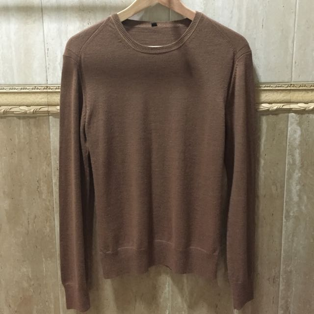 Muji Brown Sweater