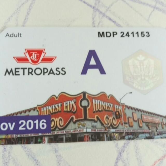 November Adult Metropass