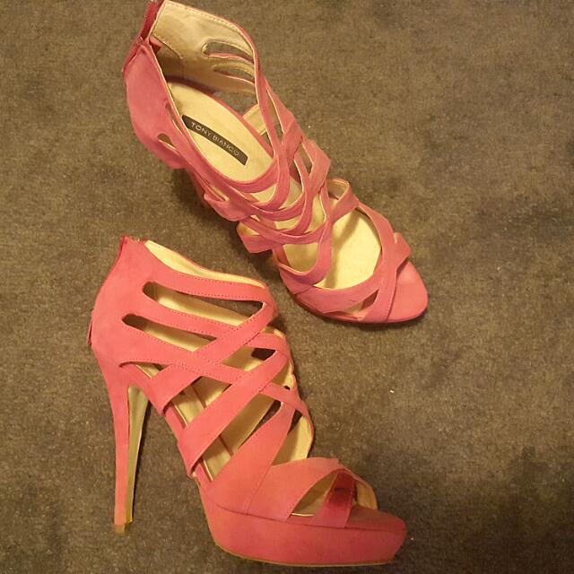 Pink Heels Size 9