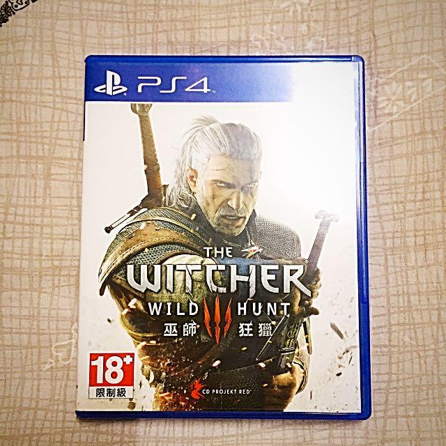 PS4 巫師3 中文版