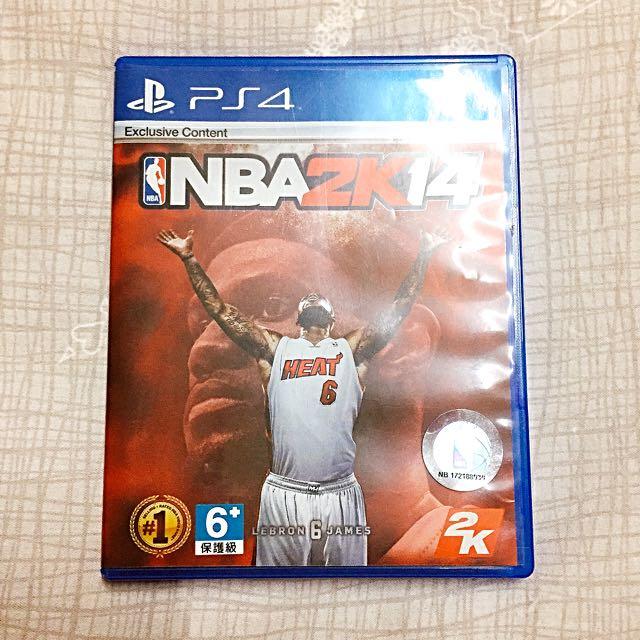 (保留)PS4  NBA  2K14  中文版