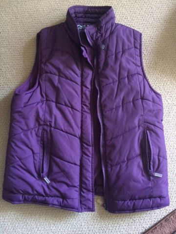 Purple Outdoor Vest