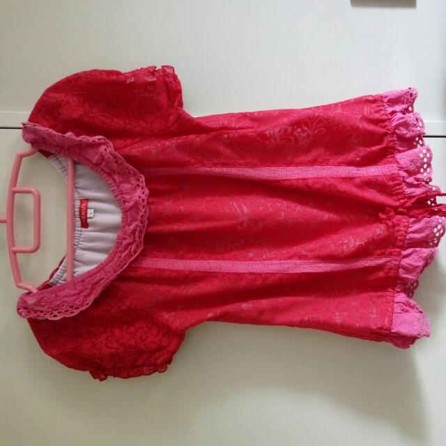 Red Blouse, Size L