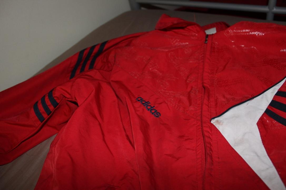Retro red Adidas Jacket