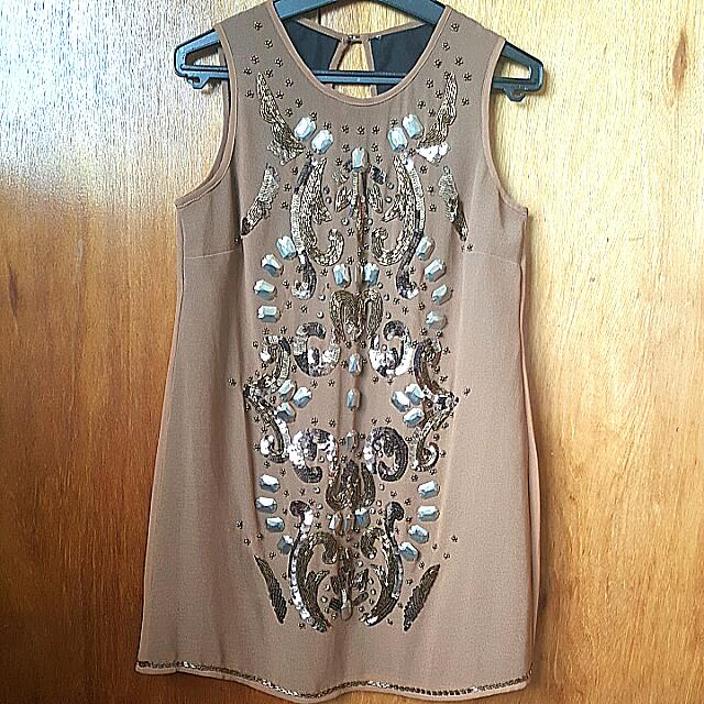 River Island Embellished Dress