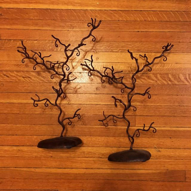 Rustic Jewelry Trees