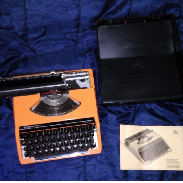 SEIKO Silver Reed SR200 (亮橘) 古董打字機