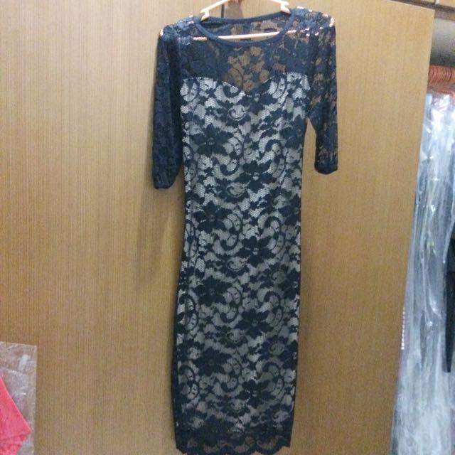 Sexy Back Lacey Dress