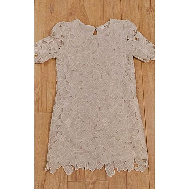 Summery white dress