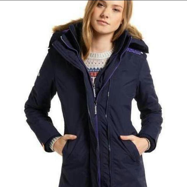 極度乾燥Superdry 防風防雨禦寒外套/風衣