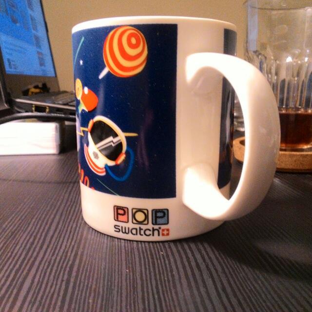 swatch mug 馬克杯 白色新款