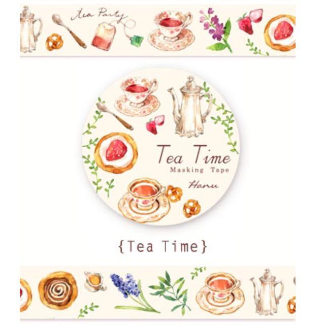 Tea Time 午茶紙膠帶