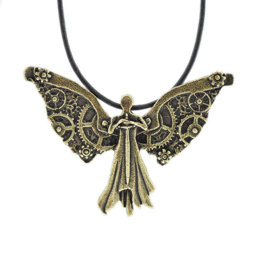 The Infernal Devices Clockwork Angel necklace