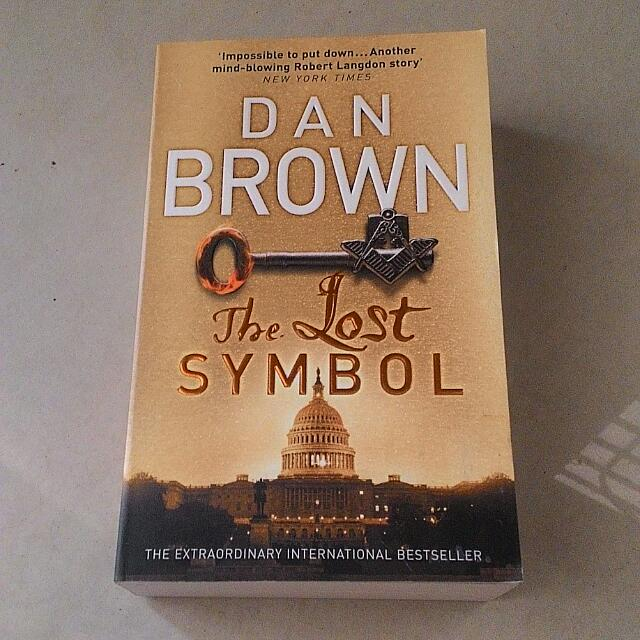 The Lost Symbol Dan Brown Books Stationery On Carousell