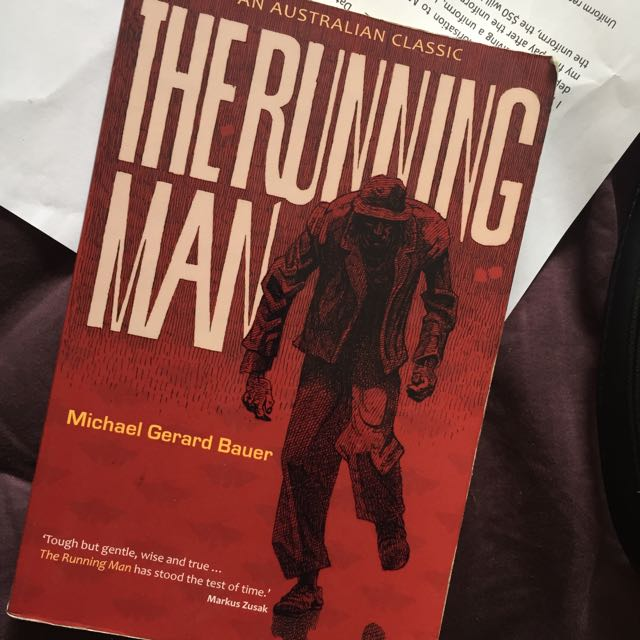 The Running Man Novel