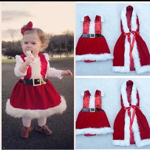 0a1a9cc2b8b2f toddler children clothes Baby Romper Boy Girl Xmas Set Dress Kid ...