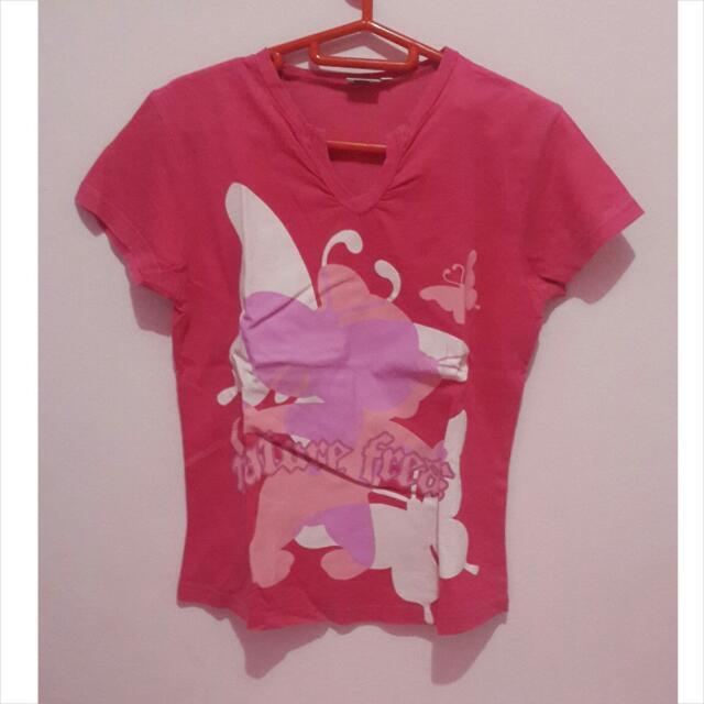 Tom N Jerry Pink T-shirt