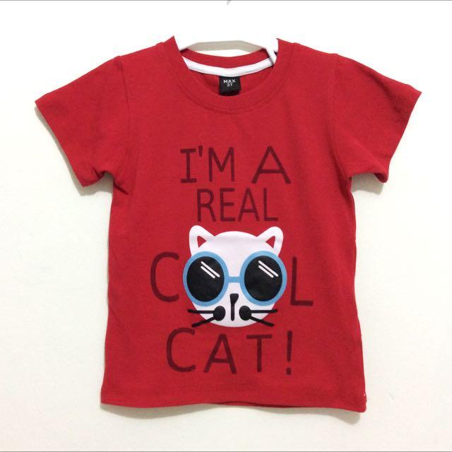 T-shirt Max I'm Real Cool Cat