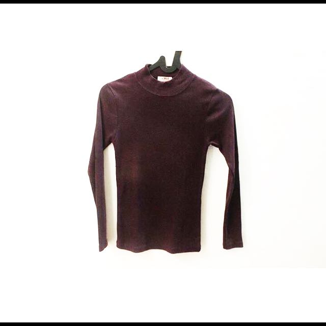 Turtle Neck Purple