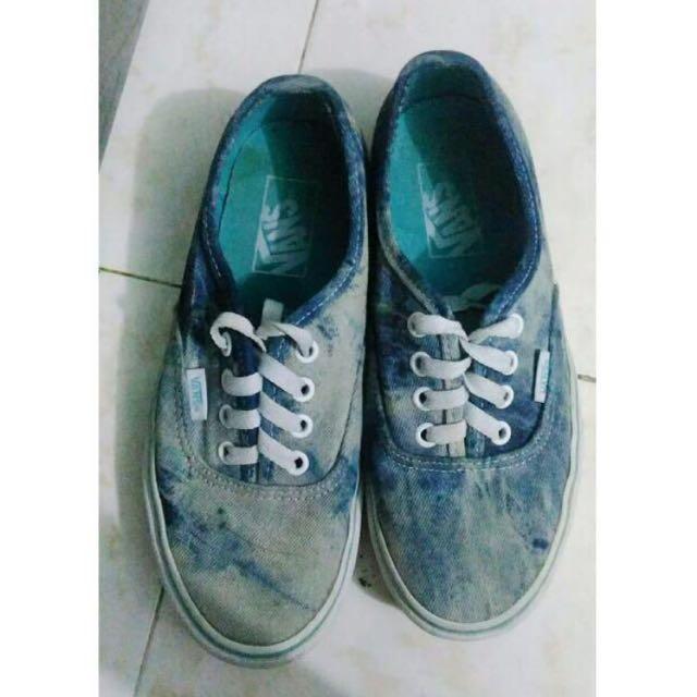 VANS acid wash