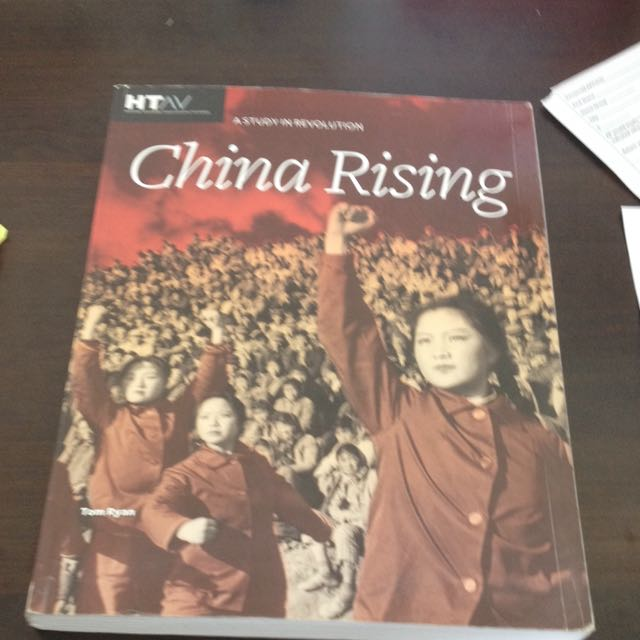VCE Chinese recolution History Textbook