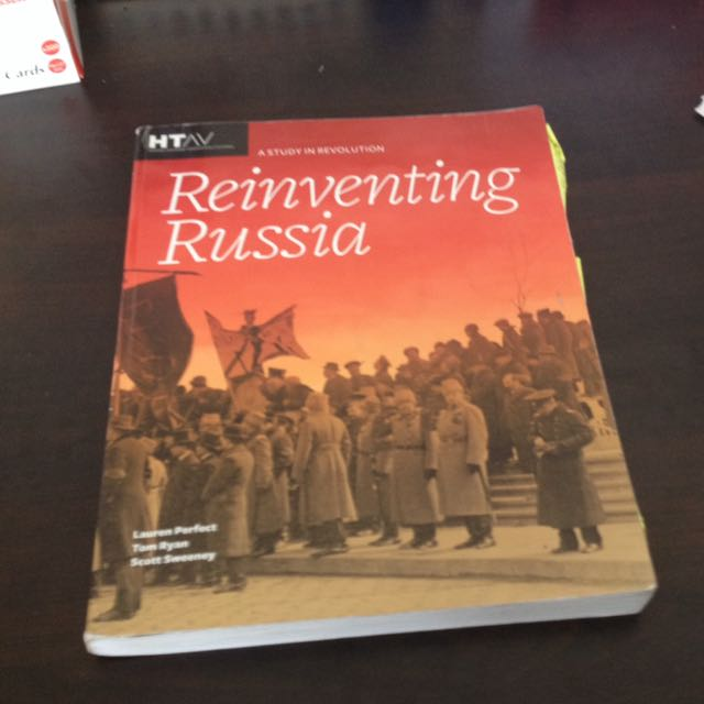 VCE History Textbook unit 3&4 russian Revolution