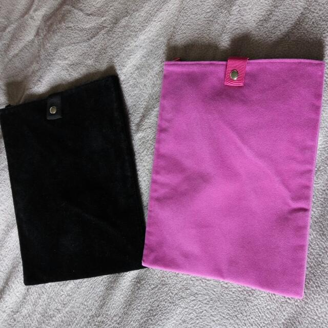 Velvet Black/Magenta Tablet Pouch (Each)