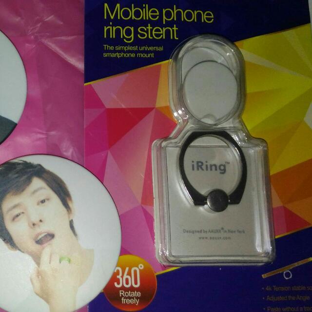 White I-Ring+Hook