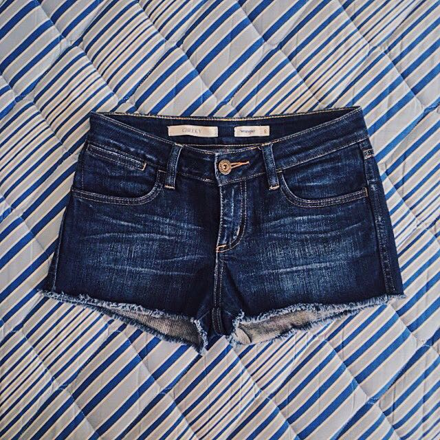 Wrangler Denim Shorts. Size 8 AUS.