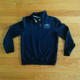 Roots Quarter Zip Sweater