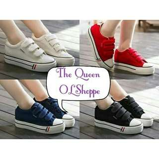 Cherrie White Sneakers K319 Size: 37 to 40 Cherrie Red Sneakers K319 Size: 35 to 39 Cherrie Blue Sneakers K319 Size: 35 36 37 39 Cherrie Black Sneakers K319 Size: 35 37 40