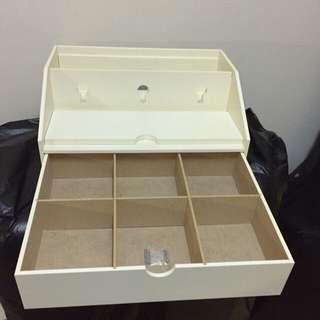 🚚 生活工場 白色收納盒