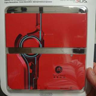 COVER plates For NEW Nintendo 3ds Xenoblade Chronicles