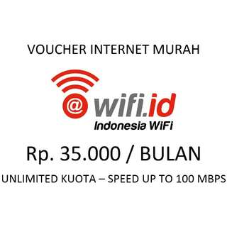 Voucher Internet WIFI.ID Smartbisnis Bulanan Murah