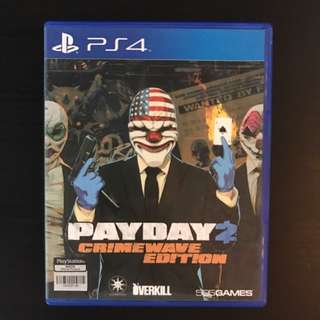 Payday2 crime wave edition for PS4
