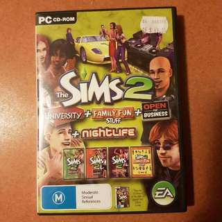 Sims 2 4in1 Expansion Packs