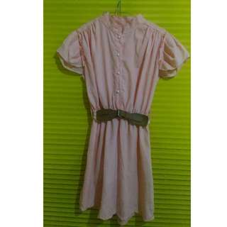 Dress / Tunik / Atasan Peach